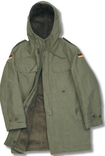 BRAND NEW CLASSIC GERMAN ARMY NATO PARKA MILITARY COMBAT LINED ...