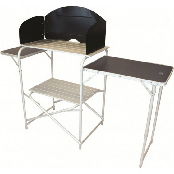 Highlander Kitchen Stand With Folding Tables