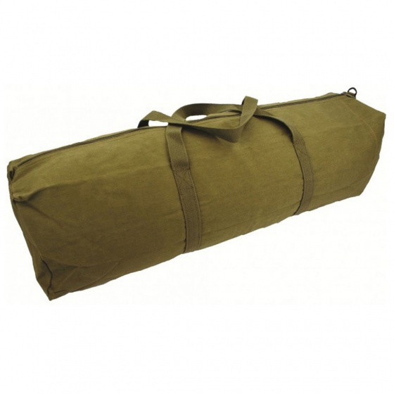 Highlander 61cm Heavy Weight Durable Cotton Canvas Zipped Tool Bag