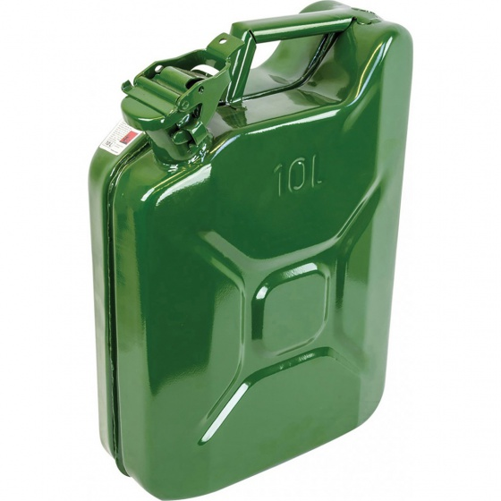 Highlander Steel Jerry Can 10 Litre