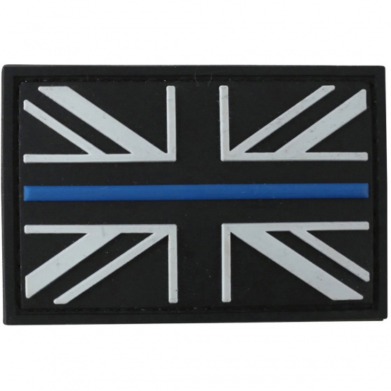 Kombat Thin Blue Line Patch