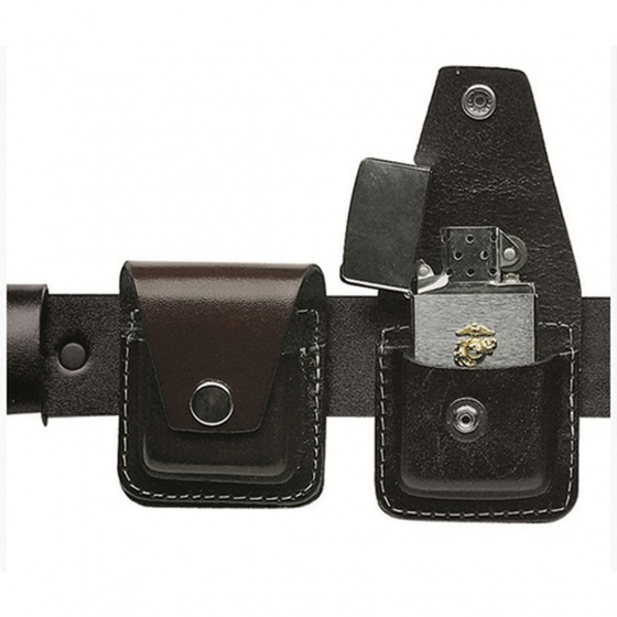 Mil-Tec Leather Pouch Windproof Lighter