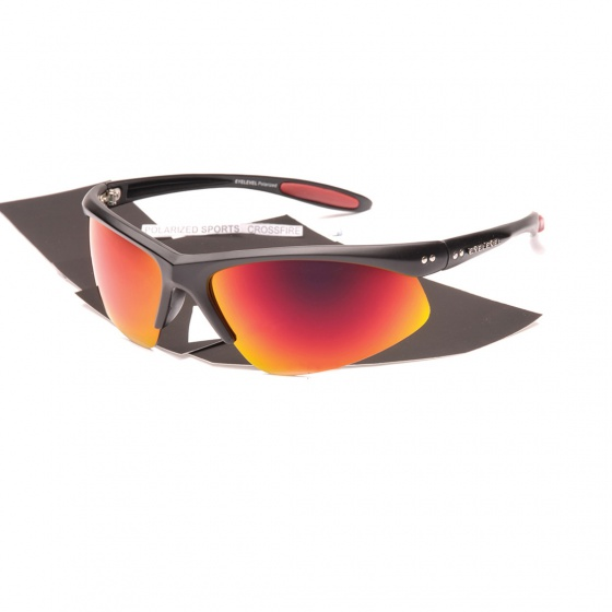 Eyelevel Crossfire Sunglasses (Red Lens)