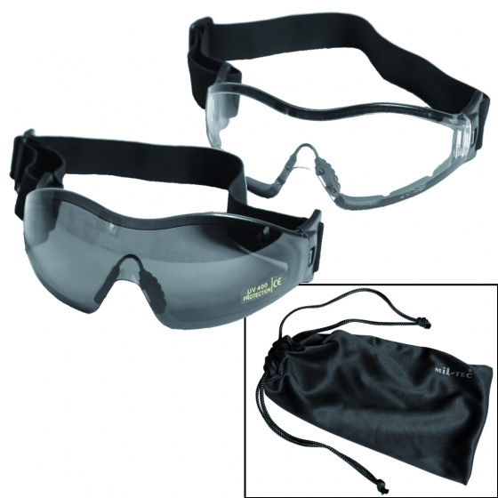Mil-Tec Clear Protective Goggles