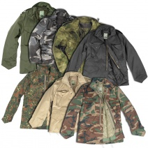 Mil-Tec US Style M65 Field Jacket With Liner