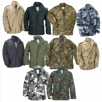 M65 Military Field Jacket With Detatchable Quilted Liner